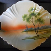 REDUCED Gorgeous Nippon Scenic Dish with Sunset On the Water