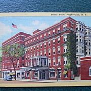 Postcard of Nelson House, Poughkeepsie, NY -Unused
