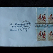 First Day Cover - Frederic Remington - 4 cents - 1961