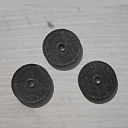 Mound Park Hospital Dahlberg Radio Tokens
