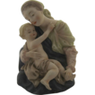 Lefton China Hand Painted Madonna & Child ( Mary & Jesus) #KW101