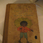 The Story of Little Black Sambo  HELEN BANNERMAN 1st US Edition 1st State 1900