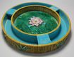 Antique: Majolica Center Piece, signed George Jones