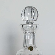 Waterford Crystal Glass Decanter, Signed, Vintage