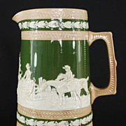 Antique Spode Pitcher, Pottery, late 1800�s