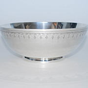 Sterling Silver Fruit Bowl, Frank Whiting & Co., Vintage