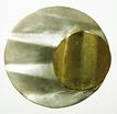 Stunning Mexican Modernist Sterling Mixed Metals Brooch