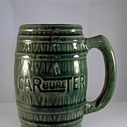 Stoneware Mug 'CARBureTER' Advertising