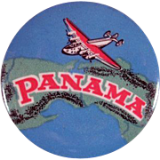 'Panama-Beaver Carbon Paper & Typewriter Ribbons' Advertising Premium Tape Measure