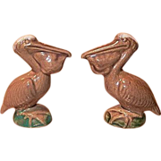 Rosemeade Pelican Salt & Pepper Shakers Natural Colors