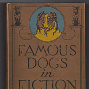 'Famous Dogs in Fiction' hard back Book Animal Stories