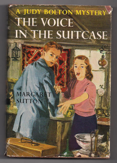 'A Judy Bolton Mystery The Voice in the Suitcase' hard back Book
