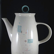 Vernon Kilns, Metlox 'Heavenly Days' Coffee Pot MCM