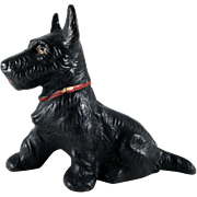 Hubley Sitting Scottie Cast Iron Paperweight