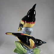 Stangl Pottery Double Oriole Bird Figure