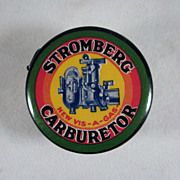 'Stromberg Carburetor/Anti-Shox' Advertising Premium Tape Measure