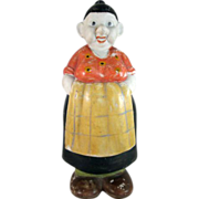 Maime from Moon Mullins Bisque Bath Salts Holder Figural c.1930 HTF