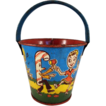 'Candy People Band' U.S. Metal Toy Tin Litho Sand Pail