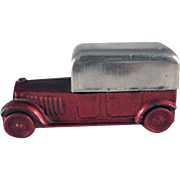 Early Made in Germany Cast Metal Sedan Pencil Sharpener