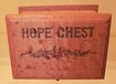 Doll's Wooden 'Hope Chest' Made in Germany