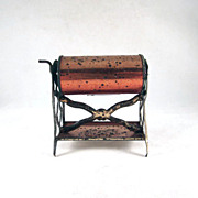 Tin Penny Toy Washing  Machine Dollhouse Furniture