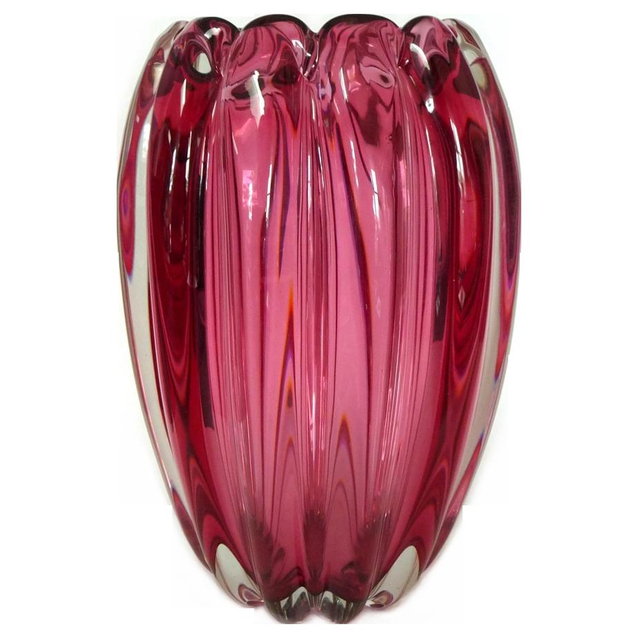 Murano Vase Vase Venetian Murano Glass
