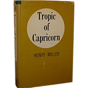 &quot;Tropic of Capricorn&quot; Henry Miller ,1st American Ed, 1st Print
