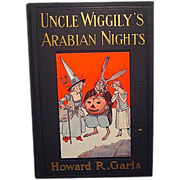 "SALE ""Uncle Wiggley's Arabian Nights"", Howard R. Garis"