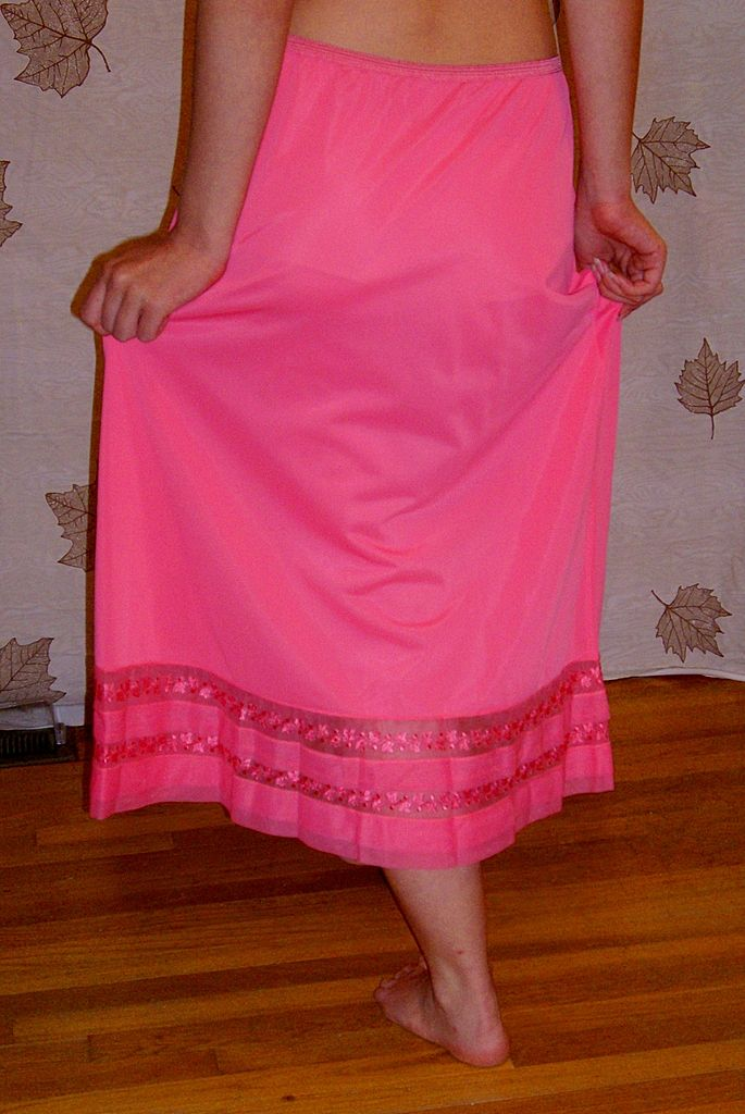 Pink Half Slip
