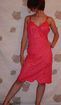 Vintage 1950 Movie Star All Lace Hot Pink Full Slip size 36