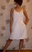 Vintage 1970 Sears Doesn't slip Full Slip White sz 36 NEW NWT NOS