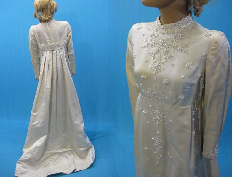 gallery for gt 1960s vintage wedding dresses