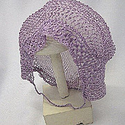 Vintage bonnet for baby or doll 1930s