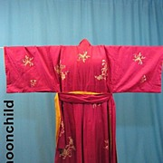 Vintage kimono Japanese early 20th Century