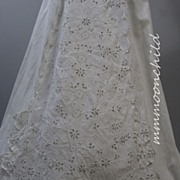 Antique Victorian lace Skirt HM13