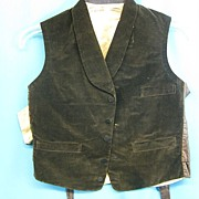 Antique waistcoat mens vest Civil War era