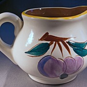 Stangl Fruit Pattern Creamer, c. 1949