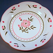 Stangl Colonial Rose Pattern Plate, c. 1970