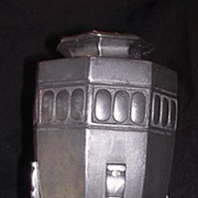 SALE Vintage English Arts & Crafts Pewter Vase