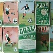 "Vintage ""GOAL"" Pepys Children's English Football Playing Cards"