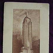 1943 Empire State Building Pamphlet