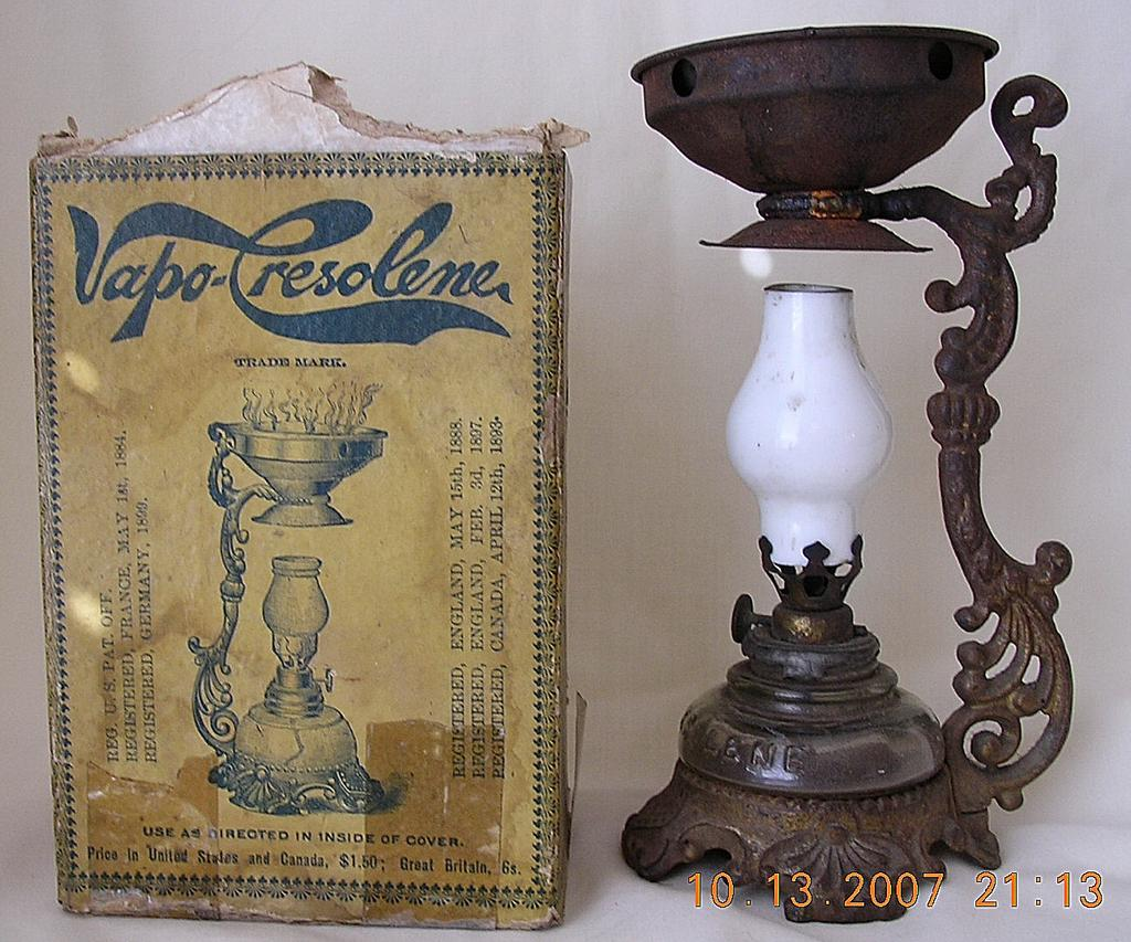 Victorian VAPO Resolene Co Vaporizer Burner