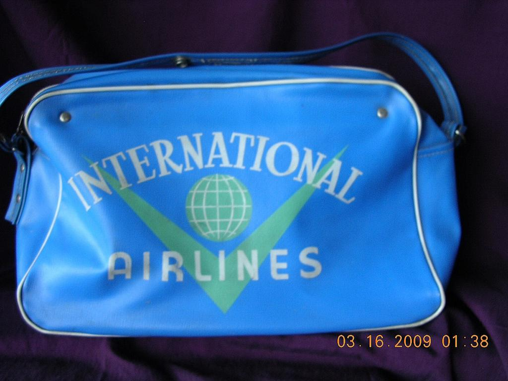 Vintage International Airlines Cabin Bag