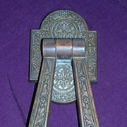 Victorian Art Nouveau Brass Door Knocker