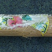 "Vintage Waikiki Hula Maiden Grass Skirt ""Lanana Craft"""