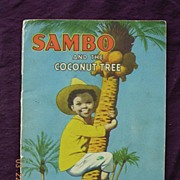 Vintage Negro Story SAMBO & The Coconut Tree