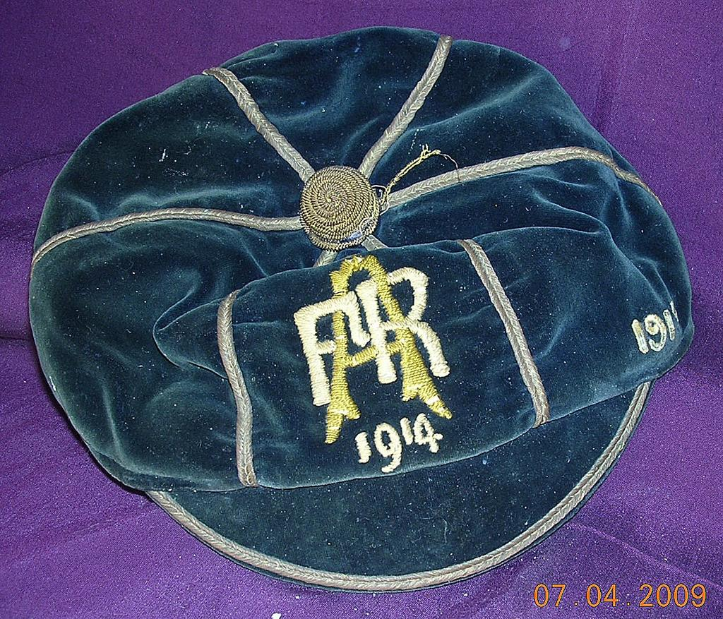 Vintage 1915 School Sports Representative Cap
