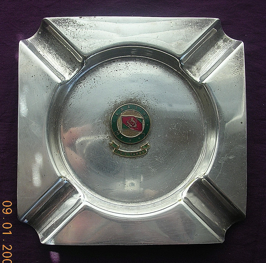 E & A Line 'T.S.S Tanda' Souvenir Ashtray