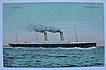 Postcard White Star Line 'OCEANIC' Postal Dated 1905