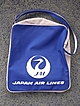 Vintage Blue & White JAL Cabin Bag